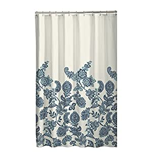 Maytex Caleb Fabric Shower Curtain Home Kitchen