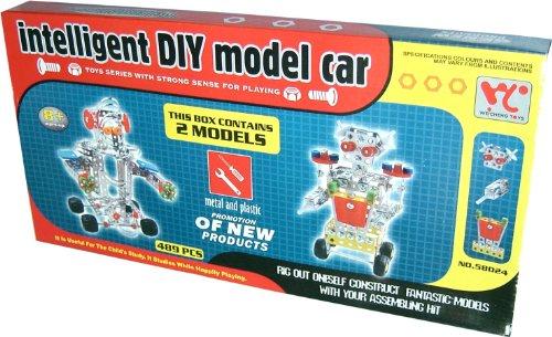 Baukasten Konstruktionsset Roboter 489 Teile Set Metall Kunststoff