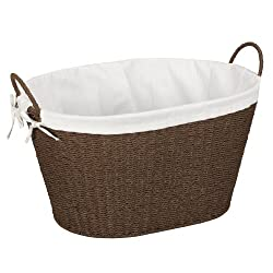 Household Essentials Paper Rope Laundry Basket with Liner