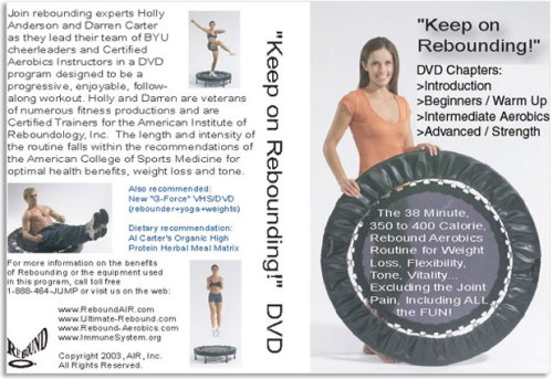 Rebound Air Trampoline Workout DVD Keep On ReboundingB0000ARQ8G