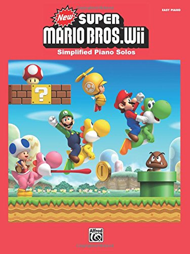 New Super Mario Bros.(TM) Wii: Simplified Piano Solos