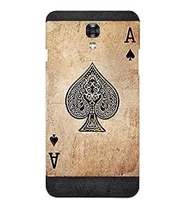 EPICCASE A Spade Mobile Back Case Cover For LG X Power (Designer Case)