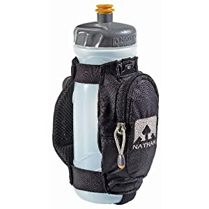 Nathan QuickDraw Plus Handheld with 22oz Bottle Black