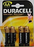 Duracell Base MN1500 - Pack of 4x AA Batteries