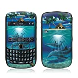 Ocean Serenity Design Skin Decal Sticker for Blackberry Curve 8500 8520 8530 Cell Phone