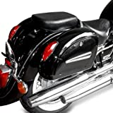 Hard saddlebags+ fixation Small Honda Shadow 750 Spirit/Black Spirit/VT 750 S/Suzuki Intruder C/M/VL 800 Volusia
