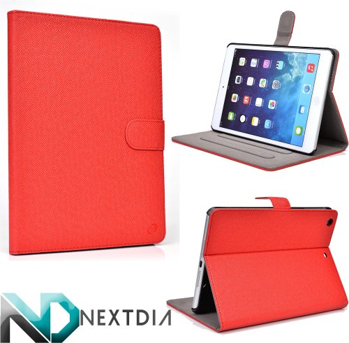 Click to buy Apple iPad Air with WiFi A1474 16GB- Case and Stand ( Crimson Red ) Plus Plug-in Stylus from NextDia - From only $9.98