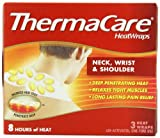 ThermaCare Air-Activated Heatwraps, Neck, Wrist & Shoulder, 3 HeatWraps (Pack of 3)