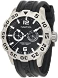 Nautica Men's N16600G Bfd 100 Multifunction Stainless Steel Watch