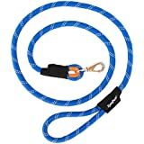 ZippyPaws Climbers Mountain Climbing Rope Dog Leash (Blue, 6-Feet)