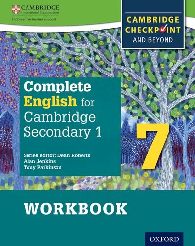 Complete English for Cambridge Secondary 1 Student Workbook 7: For Cambridge Checkpoint and beyond