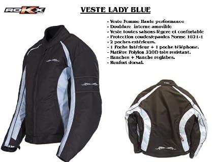 ROKX - Veste Lady Blue Rokx M
