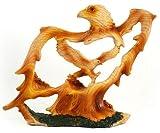 Unison Gifts MME-308 Medium Animal Woodlike Carving - Eagle
