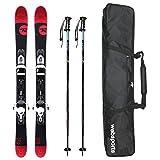 ROSSIGNOL(ロシニョール) ショートスキー 2016 SHORT 7 数量限定3点セット スキー + スキーケース + ストック rossignol 15-16 スキー 110cm