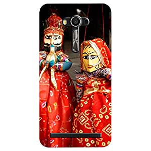 Asus Zenfone 2 Laser Rajasthani Puppets Printed Back Cover