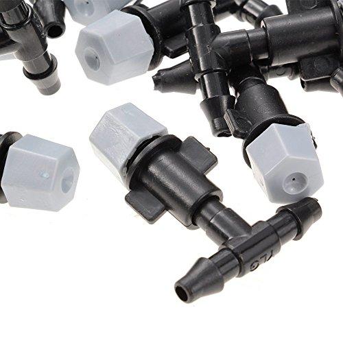 15m Exterieur Brumisation Système Refroidissement 25 Plastique Micro simple Buse