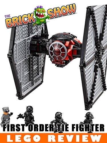 LEGO Star Wars The Force Awakens First Order TIE Fighter Review (75101)