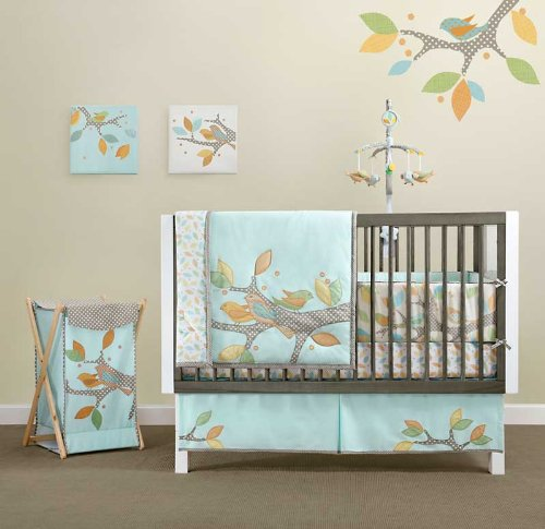 Little Tree 4 Piece Baby Crib Bedding Set by Migi