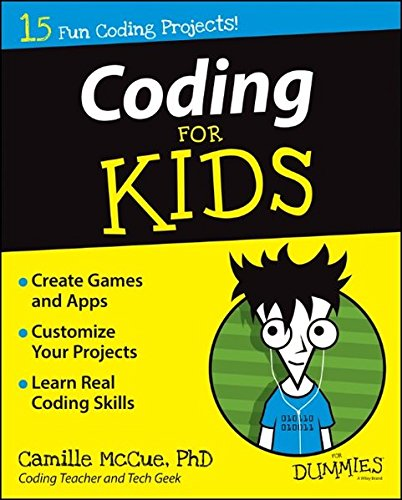 Coding For Kids For Dummies cover