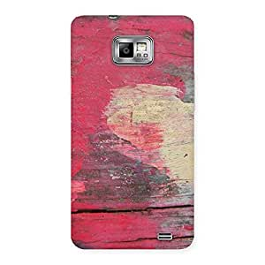 Vintage Red Yellow Designer Back Case Cover for Galaxy S2