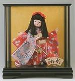 【ケース入り童人形】三月節句人形【極上本頭】(入り目)寿鈴【柴田家千代】【お祝いケース人形】