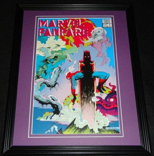 Marvel Fanfare #6 Spiderman Framed Cover Photo Poster 11X14 Official R