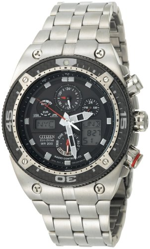 Citizen Men's Eco-Drive Promaster Carbon Chronograph Stainless Steel Watch #JY0075-54E