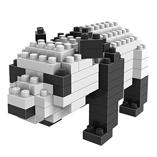 LOZ mini Diamond blocks building set - Panda - 1