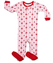 """Leveret Footed """"Heart Strings"""" Pajama Sleeper (12-18 Months)"""