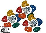 Piedras para Escalar Set de 15 Unidades - Varios Tamaños a Elegir - grande
