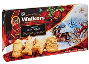 Walkers Festive Shape Shortbread-12.3 oz