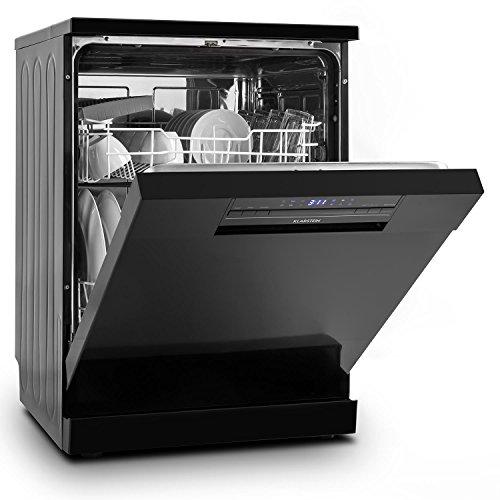 Klarstein 10028642 Freestanding 12places A++ Black lavastoviglie