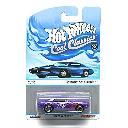 '67 PONTIAC FIREBIRD (PURPLE) * 7 of 30 * Hot Wheels Spectrafrost 2013 Cool Classics Die-Cast Vehicle