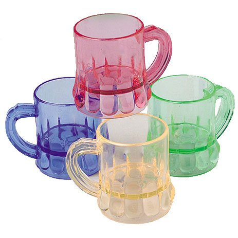 Mini Colored Mugs