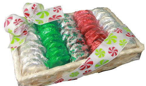 Milk Chocolate Covered Oreo Cookie Christmas Holiday Gift Basket