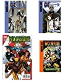 img - for Marvel Ages X-Men Evolution & Wolverine First Class 4 Pack Combo. Library Binding book / textbook / text book