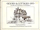 img - for Houses and Cottages, 1893 book / textbook / text book