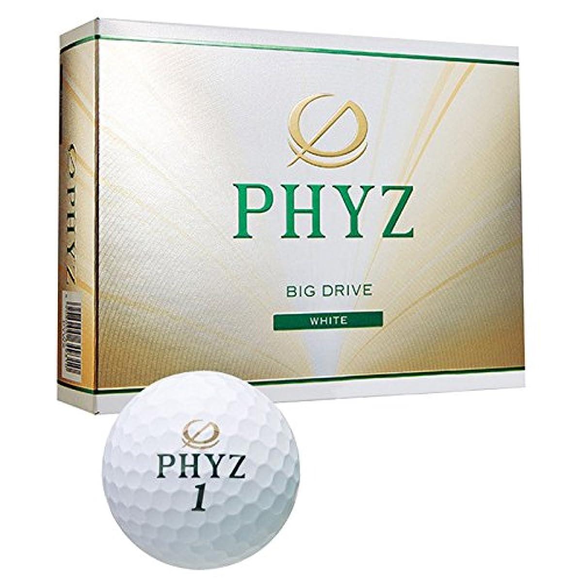 [해외] PHYZ((Φ)파이의) 골프 볼 2015년 모델 1다스(12공입)