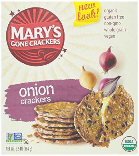 Mary's Gone Crackers Original Organic Seed Crackers - Onion-6.5 Oz