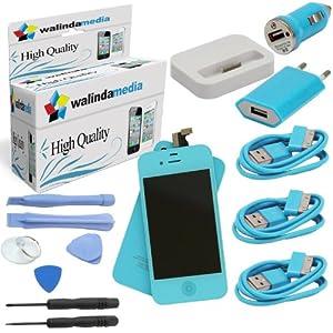 walindamedia kit complet pour apple iphone 4 4g compos d 39 un cran lcd de remplacement d 39 une. Black Bedroom Furniture Sets. Home Design Ideas