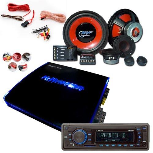 2700W Auto Musikanlage Hifi-Set Radio Verstärker