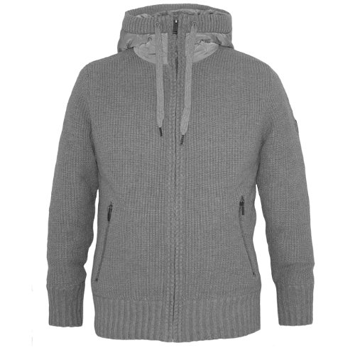 Firetrap Heavy Knit Cardigan MAJORED Ash Marl - Small