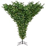 Vickerman 75' Upside Down Artificial Christmas Tree with 650 Clear Lights