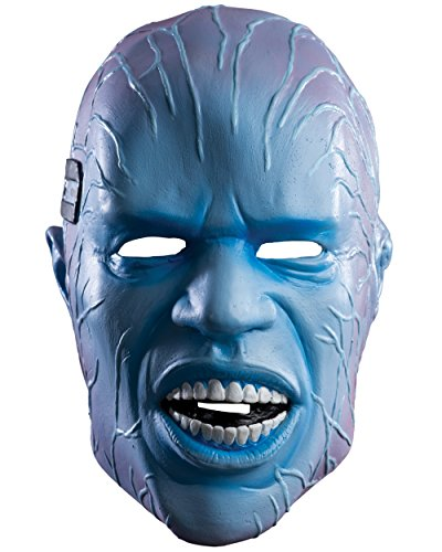 The Amazing Spider-Man 2 Electro Deluxe Overhead Latex Costume Mask Spiderman