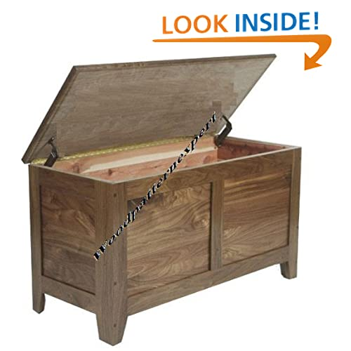 : Build Your Own Cedar Storage Chest DIY PLANS HOPE BLANKET TOY BOX ...