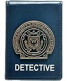 DC Comics BATMAN Metal Detective Badge Folder Bi-Fold WALLET