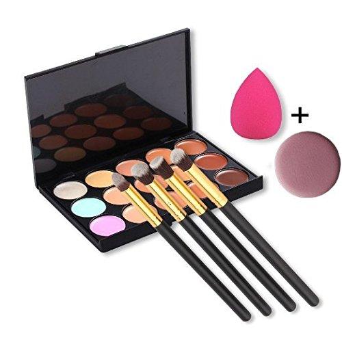 feng-15-colors-contour-face-cream-makeup-concealer-palette-4pcs-powder-brushes-with-free-makeup-spon