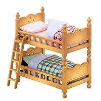 シルバニアファミリー 家具 二段ベッドセット カ-302
