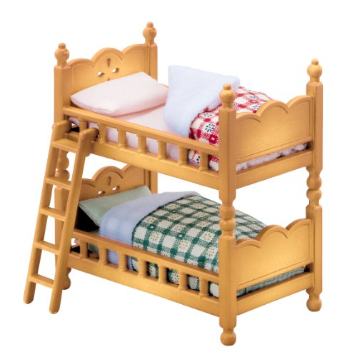 Epoch Sylvanian Families Sylvanian Baby and Child Room Set Double-deck Bed Ka-302 25650-8 - 1