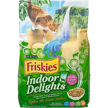 Detail image Friskies Indoor Delights Chicken Cat Food